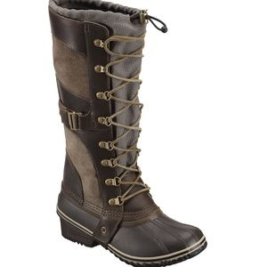 Sorel Conquest Carly Duck Boots NWOT Size 8